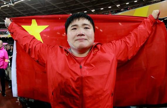 田径世锦赛・女子铅球 巩立姣夺冠!中国队首金!