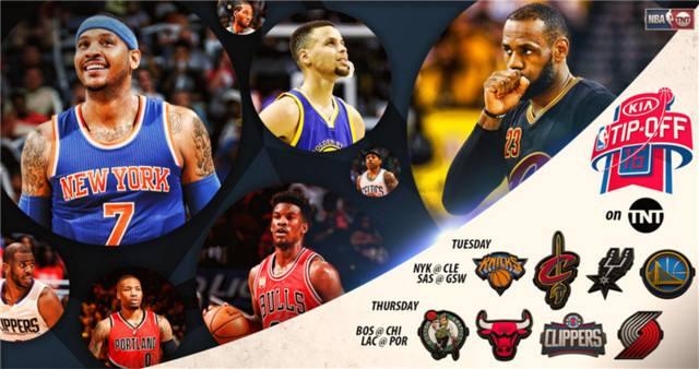 NBA公布新赛季赛程 10月18日揭幕战 背靠背比