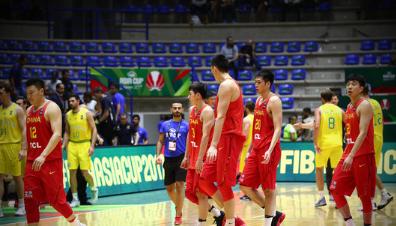 史上最惨!男篮亚洲杯崩盘-中国男篮负澳洲无缘4强