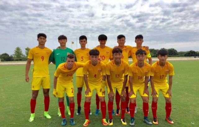刘若钒传射叶尔凡破门 中国U19国青队4-1大胜韩国代表队
