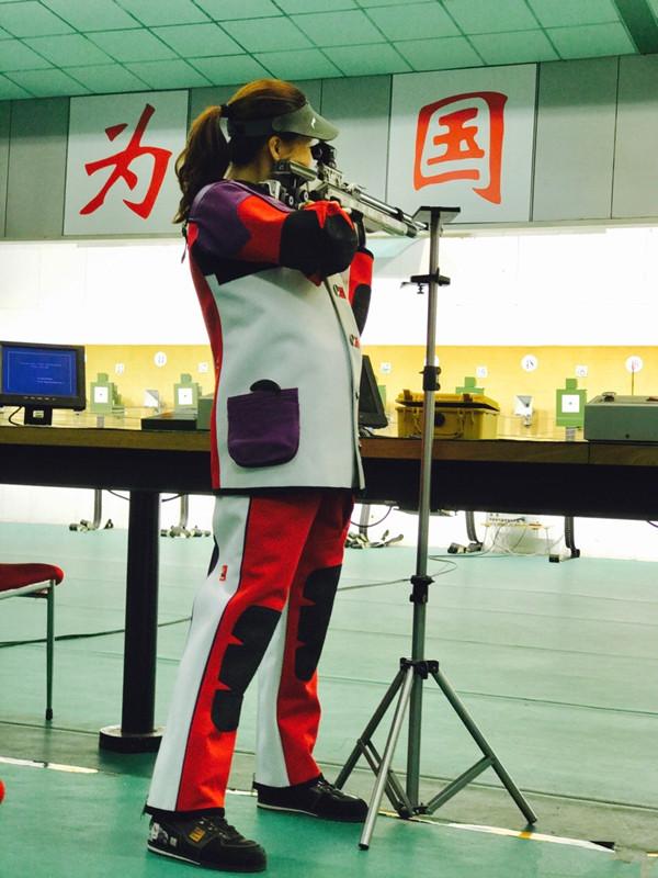 """奥运冠军易思玲""""带娃""""出战全运 或参加气枪比赛"""