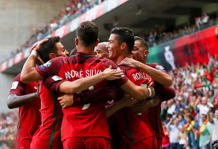 世预赛c罗上演帽子戏法葡萄牙5-1法罗群岛 国家队进球