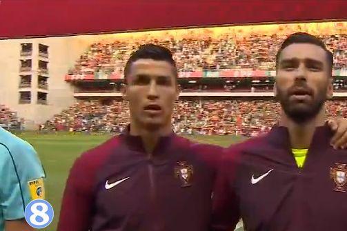 世预赛-c罗3射1传 葡萄牙5-1轻取法罗群岛