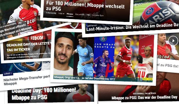 德甲今日头版:夏季转会费总额超6亿 荷兰仍有出线希望