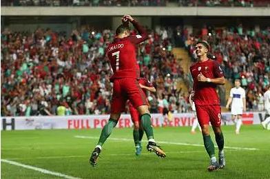 葡萄牙主场5-1大胜法罗群岛.