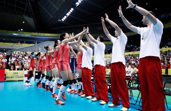 开门红!大冠军杯-中国3-1美国 朱婷拿全场最高分21分