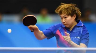 全运-朱雨玲女单乒乓半决赛憾负 落寞走出赛场
