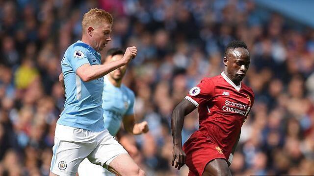 马内红牌 埃德森重伤 利物浦半场0比2落后曼城