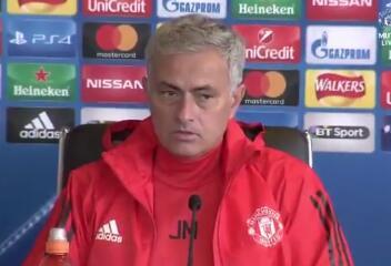 穆里尼奥:费莱尼非常重要,期待欧冠首战