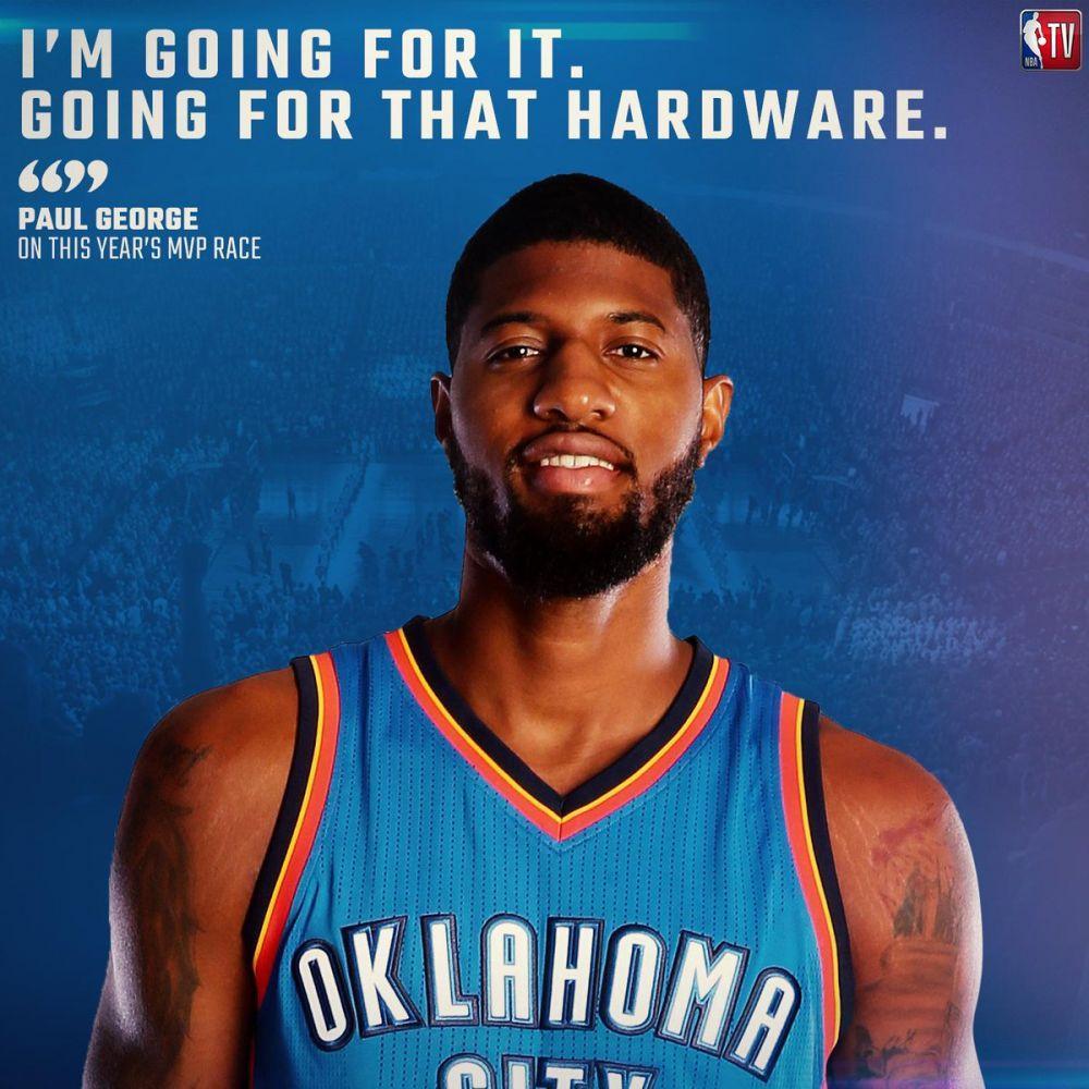 乔治:下赛季希望我能竞争MVP