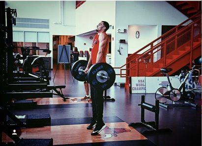 公牛官方发布拉文锻炼照:一直在训练