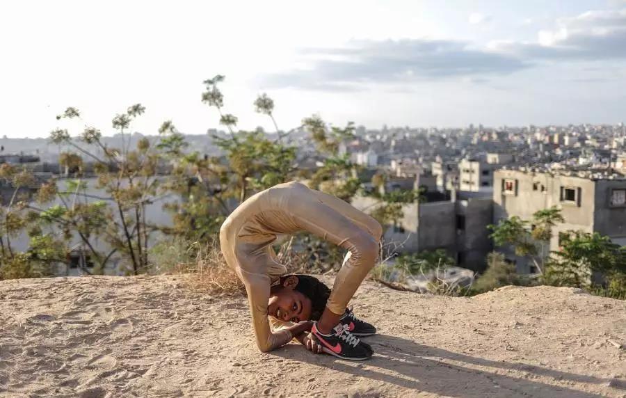 12岁巴勒斯坦柔术少年挑战吉尼斯记录 身体柔