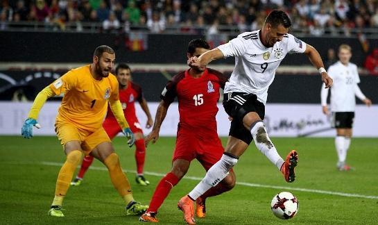 世预赛-凯恩点射 英格兰1-0进世界杯 德国5-1创