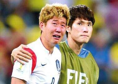 气不忿男?韩国球迷不称心FIFA排名称:被中国跨越是耻