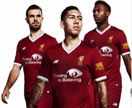 宣传世界视力日!双红会利物浦将身穿特殊球衣