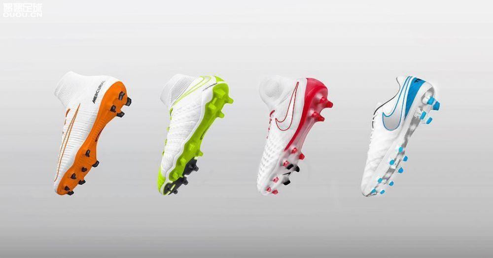 耐克2018白足球鞋系列套装之概念设计,design by phillarivièred