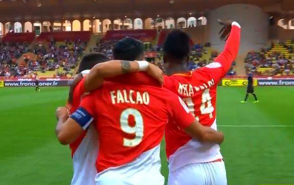 法甲-凯塔首球法尔考点射 摩纳哥2-0轻取卡昂_