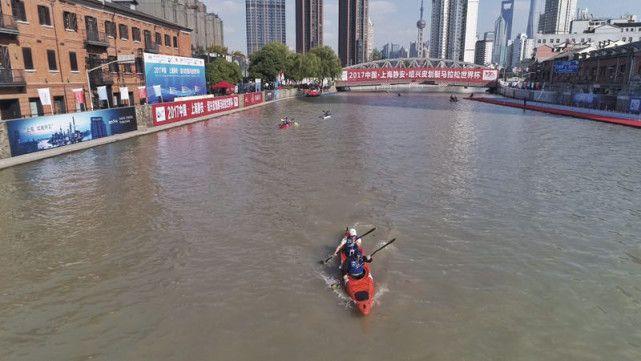 2016上海静安苏州河国际皮划艇马拉松赛成功举办之后,静安区连续第