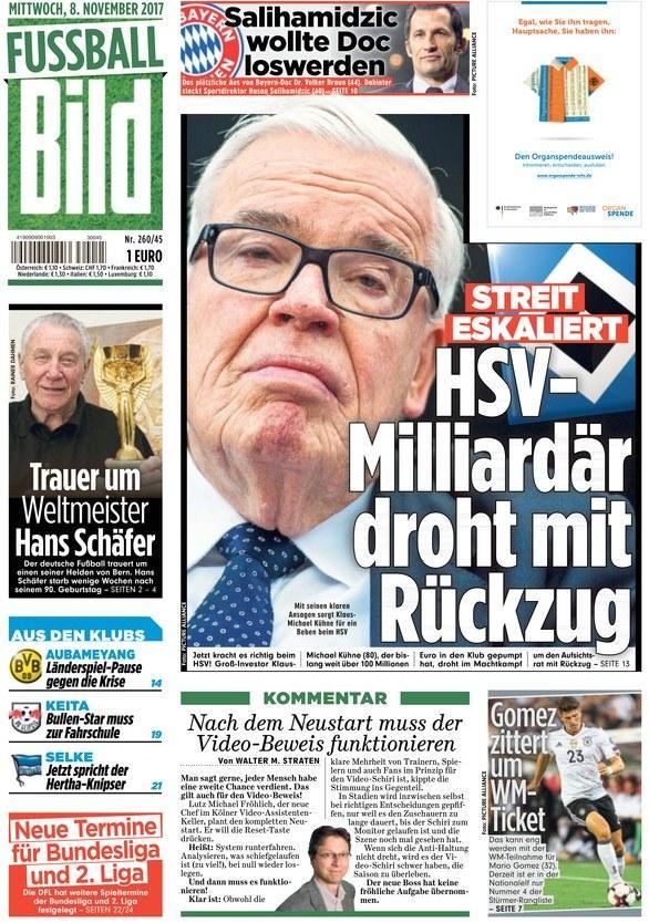 但多家德国媒体都认为,这是屈内在表达不满意监事会的候选人,并希望在