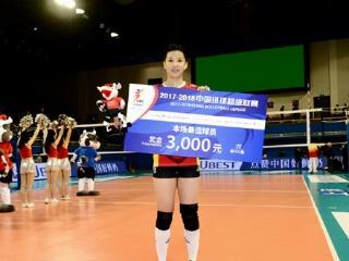 6连胜!上海女排3-0完胜天津女排 稳居小组头名