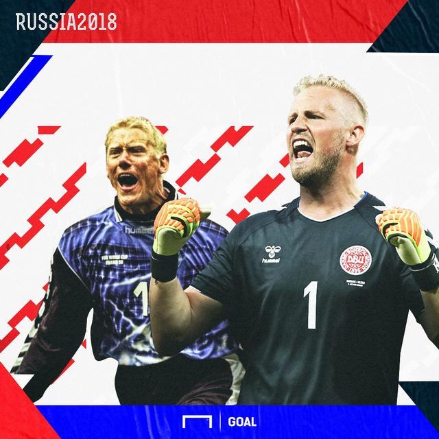 世界杯决赛圈的秘鲁对阵丹麦队,上半场尾声阶段,奎瓦禁区内拿球被波尔