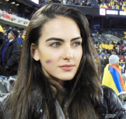 毫无争议!世界杯第一美女惊艳这个夏天!