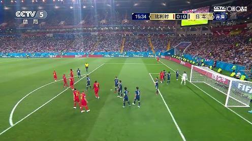日本10-0-0叹息之墙,最夸张一幕11人站禁区,比利时快被逼疯