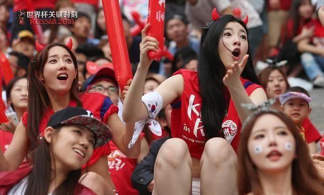 世界杯八位最美女球迷,韩国最美网红垫底,维多利亚超模仅排第二