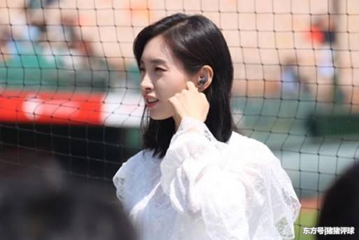 韩国世界杯美女记者走红,外表神似王祖贤,身材不输徐冬冬!