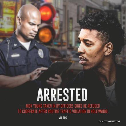 突发! 尼克杨被警察逮捕, 他已不是第一次和警察发生冲突!