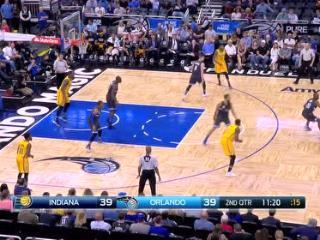 04月09日NBA常规赛 魔术vs步行者 精彩镜头