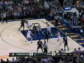 04月08日NBA常规赛 爵士vs森林狼 全场录像