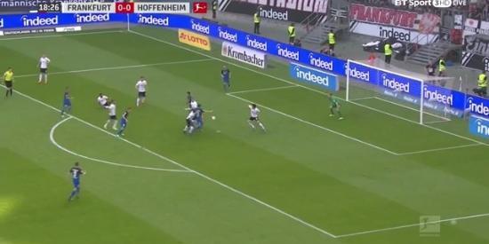 德甲-格纳布里破门 霍村客场1-1法兰克福6轮不败