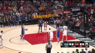 04月25日NBA季后赛 开拓者vs勇士 全场录像