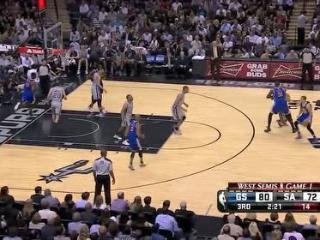 【篮球】一战成名!库里对马刺44分