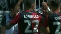意甲第38轮 卡利亚里vsAC米兰 进球视频