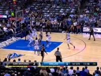 04月08日NBA常规赛 小牛vs马刺 精彩镜头
