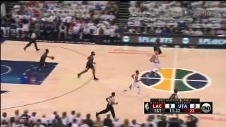 04月24日NBA季后赛 爵士vs快船 全场录像