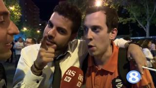 淘汰拜仁!马德里市陷入一片欢乐海洋