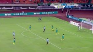 中甲-拉蒙补时头球绝平 绿城主场1-1大连一方