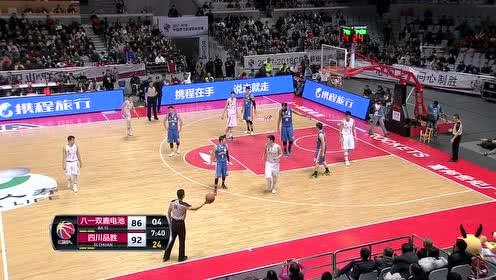 01月10日CBA第26轮 八一vs四川 全场录像
