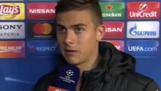 迪巴拉:赛前向梅西问过好