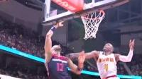 04月25日NBA季后赛 老鹰vs奇才 精彩镜头