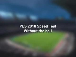 PES 2018加入博尔特的速度测试,好像结果已经