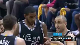 04月21日NBA季后赛 灰熊vs马刺 全场录像