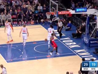 04月07日NBA常规赛 尼克斯vs奇才 精彩镜头