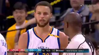 04月17日NBA季后赛G1 勇士vs开拓者 全场录像