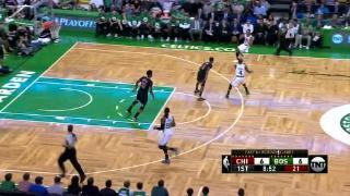 04月17日NBA季后赛 凯尔特人vs公牛 精彩镜头