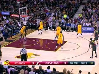 04月08日NBA常规赛 骑士vs老鹰 精彩镜头