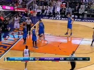 04月10日NBA常规赛 太阳vs小牛 精彩镜头
